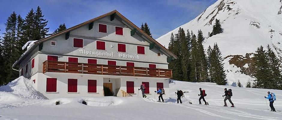Alpengasthof Edelweiss Winter