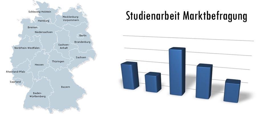 Studienarbeit Marktbefragung