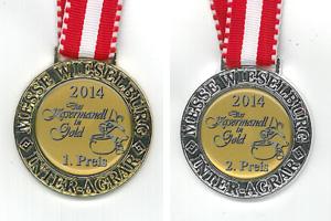 Gold und Silber beim Kasermandl 2014