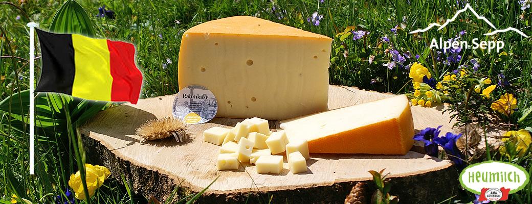 Käse Versand nach Belgien bei Alpen Sepp