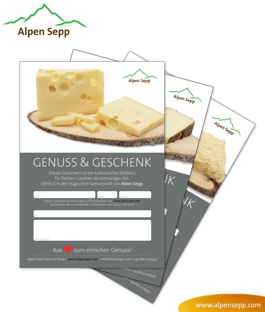 Gutscheine vom Alpen Sepp zum Ausdrucken