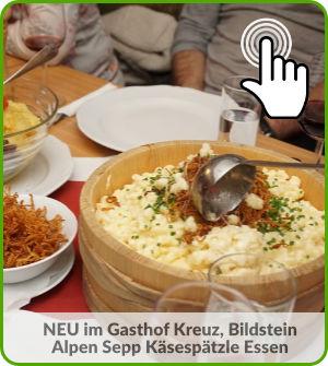 Zum Alpen Sepp Käsespätzle Essen