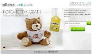 Gratis Teddy Bär Gutscheincode