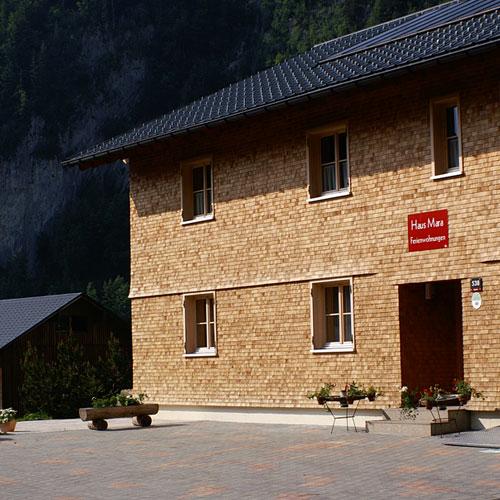 Urlaub am Bauernhof Beer, Haus Mara, in Au im Bregenzerwald