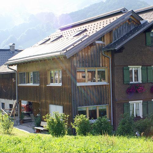 Urlaub am Bauernhof Simma in Au im Bregenzerwald