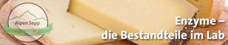 Enzyme - die Bestandteile im Lab im Käse Wiki vom Alpen Sepp