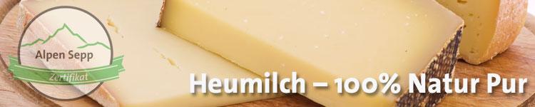 Heumilch - 100 % Natur Pur im Käse Wiki vom Alpen Sepp