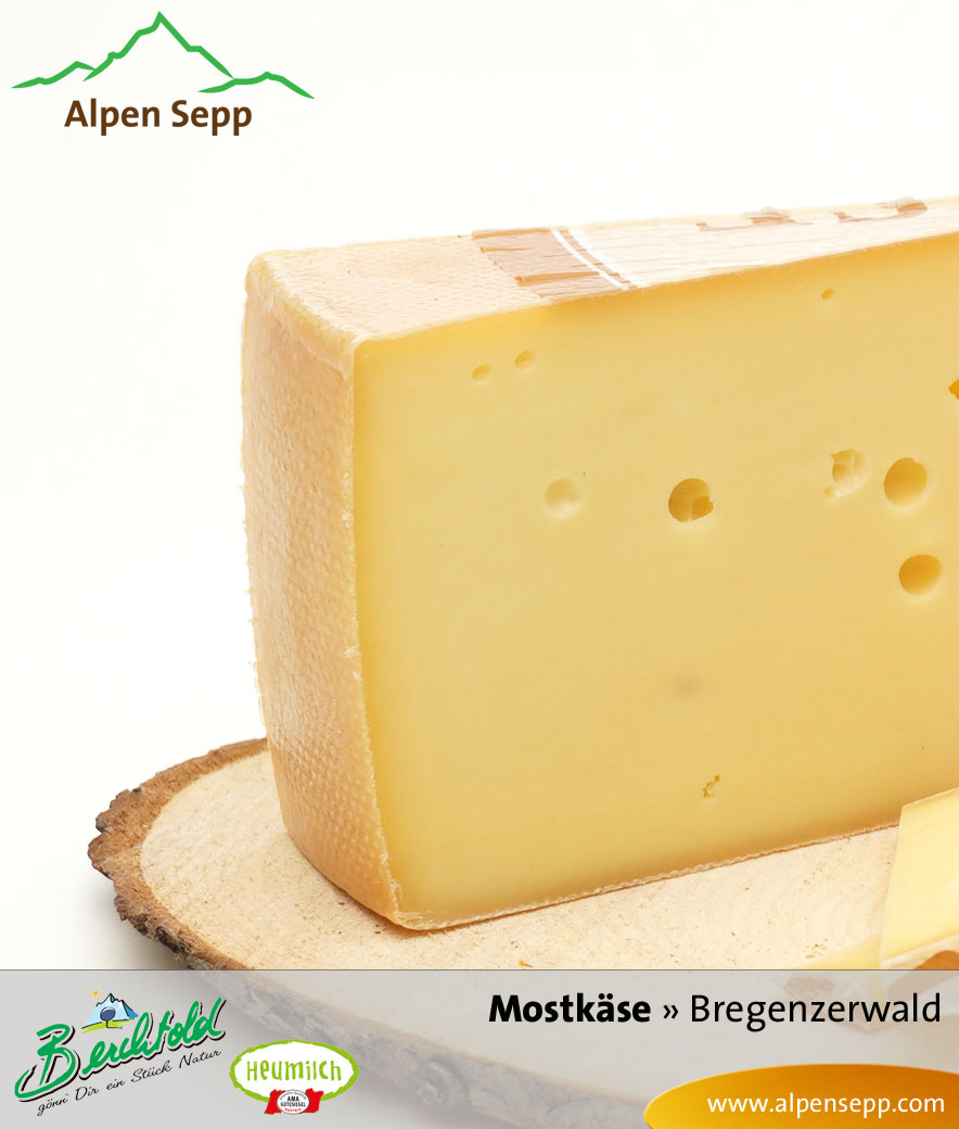 Heumilch Mostkäse