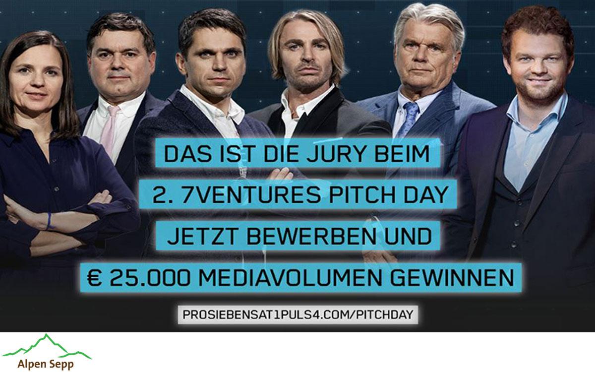 Anmeldung zweiter 7ventures Pitch Day in Wien