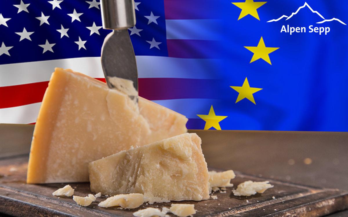 Parmesan Qualität USA EU