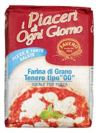 Italienisches Mehl für den Pizzateig