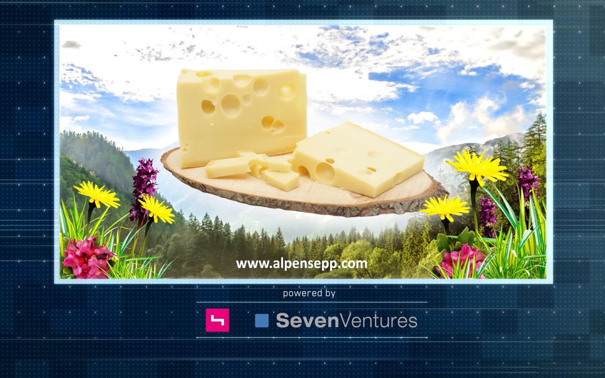 Alpen Sepp im TV powered by SevenVentures