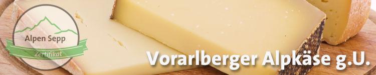 Vorarlberger Alpkäse g.U. im Käsewiki