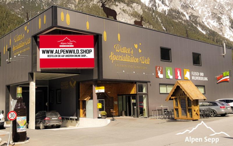 Alpen Sepp Alpenwild - Produktionsstandort Pettneu - Tirol