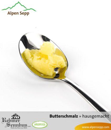 Butterschmalz, Butterreinfett oder Ghee aus Heumilch