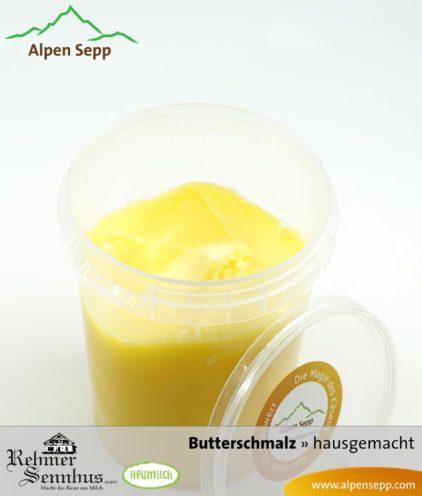 Premium Butterschmalz, Butterreinfett oder Ghee aus Heumilch
