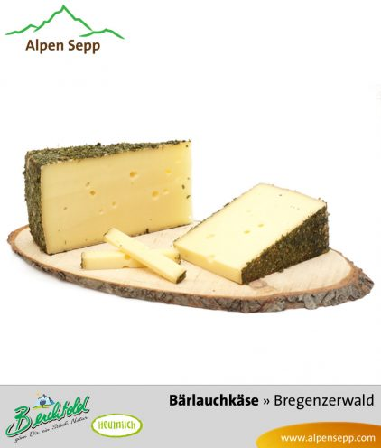 Bärlauchkäse Spezialität - würziger Käse