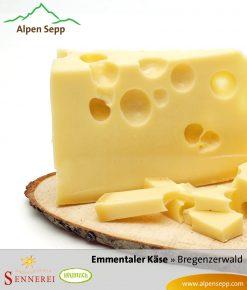 Heumilch Emmentaler Käse