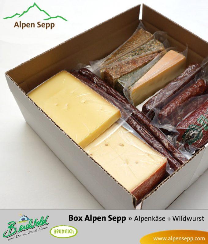 Geschenkbox Alpen Sepp - Wurst und Käse
