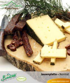 Jausenbox normal, Wurst und Käse