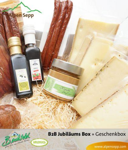 B2B Grosse Geschenkbox Wurst und Käse