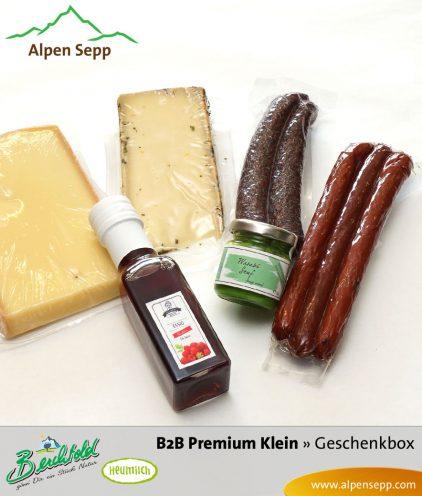 B2B Premium Geschenkbox Käse und Wurst