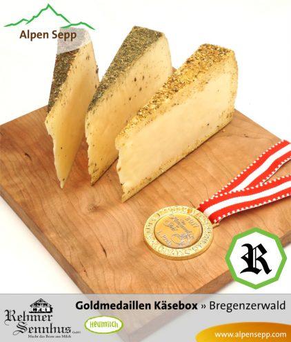 Goldmedaillen Käsebox