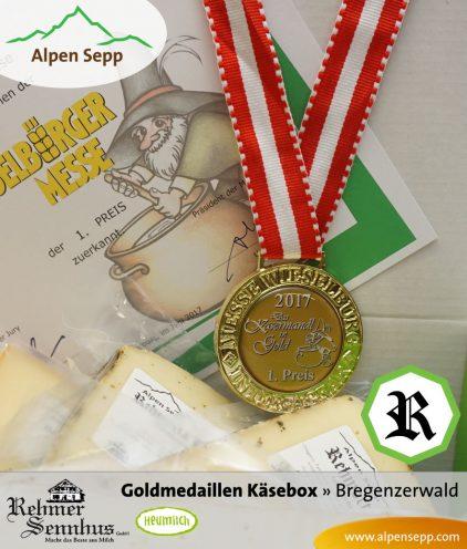 Käse Goldmedaille REHMOCTA