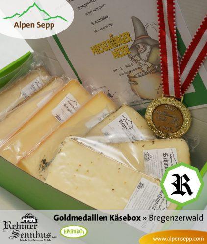 Goldmedaillen Käsebox - Bergkäse und Schnittkäse