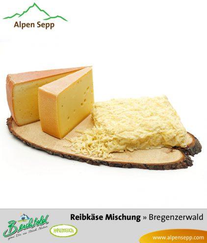 Heumilch Reibkäse Mischung - 1 kg